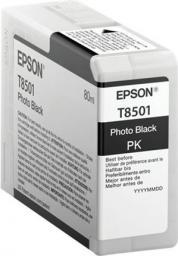 Epson Wkład atramentowy UltraChromeHD Photo Black (C13T850100)