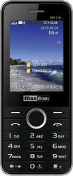 Telefon komórkowy Maxcom MM 136 Czarny (DualSIM)