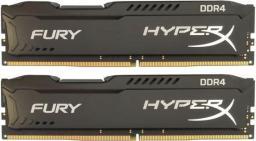 Pamięć HyperX Fury, DDR4, 8 GB,2666MHz, CL15 (HX426C15FBK2/8)