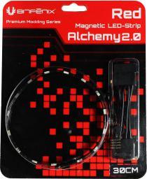 BitFenix Alchemy 2.0 30cm Czerwony (BFA-MAG-30RK15-RP)
