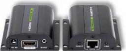 System przekazu sygnału AV Techly Extender HDMI po skrętce kat 6a/7 (020355)