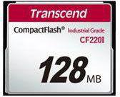 Karta pamięci Transcend CompactFlash 128MB (TS128MCF220I)