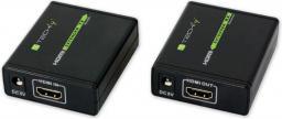 System przekazu sygnału AV Techly Extender HDMI po skrętce kat 5e/6a/7 (309739)