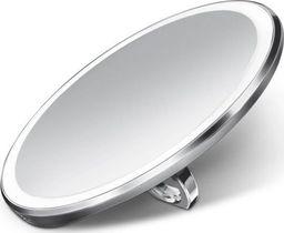 Lusterko kosmetyczne Simplehuman Lusterko kieszonkowe sensorowe - 10 cm - stal matowa / simplehuman uniwersalny