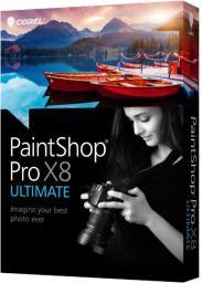 Corel PaintShop Pro X8 Ultimate ML miniBox (PSPX8ULMLMBEU)