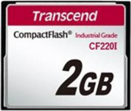 Karta pamięci Transcend CompactFlash przemysłowa 2GB (TS2GCF220I)