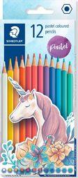 Staedtler Kredki sześciokątne Pastel 12 kolorów STAEDTLER