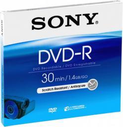 Sony DVD-R, 1.4 GB, 8 cm, Jewel Case  (DMR30A)