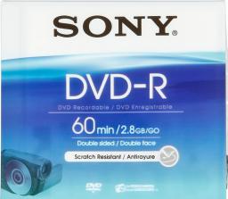 Sony DVD-R, 2.8 GB, 8 cm, Jewel Case     (DMR60A)