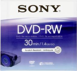 Sony DVD-RW, 1.4 GB, 8 cm, Jewel Case (DMW30AJ)