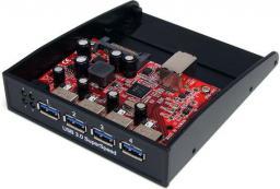 HUB USB StarTech 3.0, 4 porty, front panel  (35BAYUSB3S4)