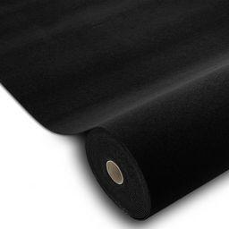 Dywany Łuszczów Wykładzina samochodowa TRIUMPH 990 czarny gotowe rozmiary, 80x200 cm