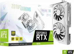 Karta graficzna Zotac GeForce RTX 3070 Twin Edge OC White Edition 8GB GDDR6 (ZT-A30700J-10P)