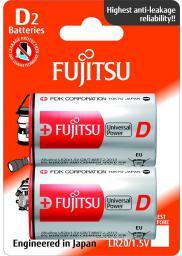 Fujitsu Bateria Universal Power D / R20 2szt.