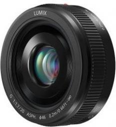 Obiektyw Panasonic LUMIX G 20 mm f/1.7 II ASPH Czarny (H-H020AE-K)