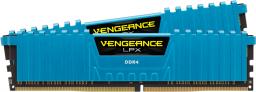 Pamięć Corsair Vengeance LPX, DDR4, 16 GB,3000MHz, CL15 (CMK16GX4M2B3000C15B)
