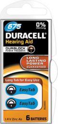 Duracell Bateria do aparatów słuchowych, Zinc Air Hearing, Aid 675,  1.4V  (0000096077580)