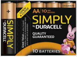 Duracell Bateria AA / R6 10szt.