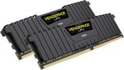 Pamięć Corsair Vengeance LPX, DDR4, 32 GB, 3000MHz, CL15 (CMK32GX4M2B3000C15)