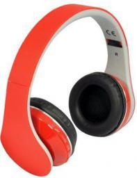 Słuchawki Rebeltec Pulasr, Czerwone