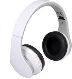 Słuchawki Rebeltec Pulsar, Białe
