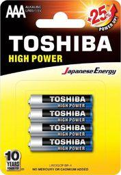 Toshiba Bateria High Power AAA / R03 4szt.