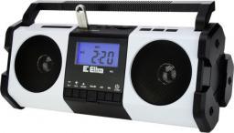Radio Eltra Maja z cyfrowym strojeniem, USB, funkcja dyktafonu, biało-czarne