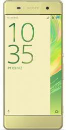 Smartfon Sony Xperia XA Limonkowe Złoto F3111 16GB (1302-4671)