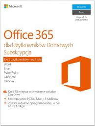Microsoft Office 365 Home Premium (6GQ-00704)