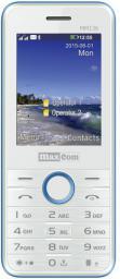 Telefon komórkowy Maxcom MM 136 Biało-Niebieski (DualSIM)