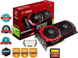 Karta graficzna MSI GeForce GTX 1060 GAMING X 6G 6GB GDDR5 (192 Bit) 3xDP, HDMI, DVI-D, BOX (GTX 1060 GAMING X 6G)