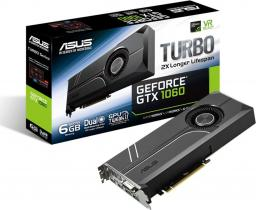 Karta graficzna Asus GeForce GTX 1060 6GB GDDR5 (TURBO-GTX1060-6G)