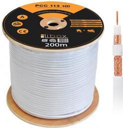 Przewód Libox Koncentryczny, Professional Premium,  kl.A HD/200m (PCC113)