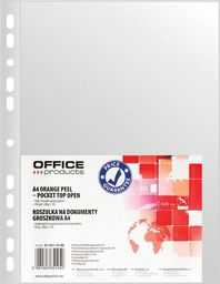 Office Products Koszulki na dokumenty OFFICE PRODUCTS, PP, A4, groszkowe, 30mikr., 100szt. - 5901503651049