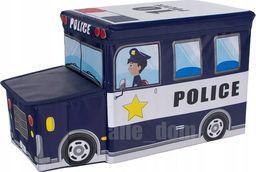 Product Placement Pufa 2 w 1 pojemnik schowek , siedzisko POLICE