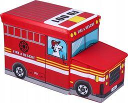 Product Placement Pufa skrzynia auto pojemnik na zabawki FIRE