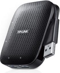 HUB USB TP-LINK 4x USB 3.0 Czarny (UH400)