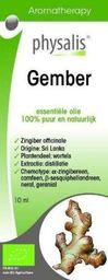 Physalis Olejek eteryczny imbir (gember) Bio 10 ml
