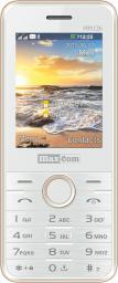 Telefon komórkowy Maxcom MM 136 Biało-złoty