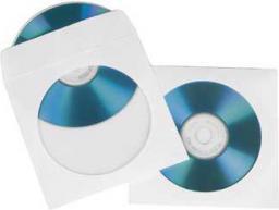 Hama Koperty Na Płyty CD/DVD, 100 szt. Biały (51174)