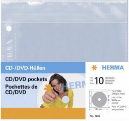 Hama Herma Kieszenie Na Płyty CD/DVD, 5 szt. (7686)