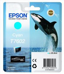 Epson tusz T7602 UltraChrome HD (cyan)
