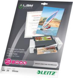 Leitz Folia do laminowania 125mic, A4, 25 sztuk (7482-00-00)