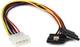 StarTech Adapter Molex - 2x SATA (PYO2LP4LSATA)