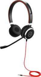 Słuchawki z mikrofonem Jabra Evolve 40 UC Duo (14401-10)