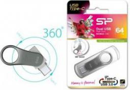 Pendrive Silicon Power C80 16GB (SP016GBUC3C80V1S)
