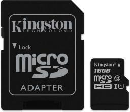 Karta Kingston MicroSDHC 16GB (SDC10G2/16GB)