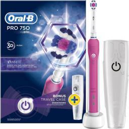 Szczoteczka elektryczna Braun D16.513.UX (PRO 750) Pink