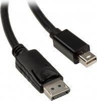 Kabel Akasa DisplayPort Mini - DisplayPort 2m czarny (AK-CBDP02-20BK)