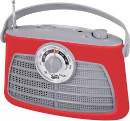 Radio Trevi RETRO RA763 CZERWONY